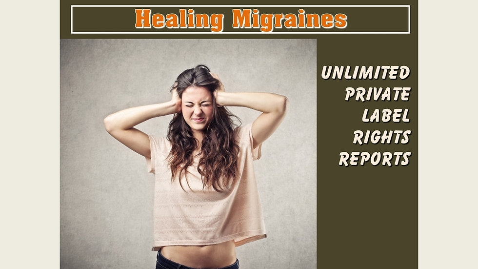 Healing Migraines Private Label Content Pack