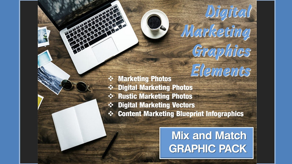 Digital Marketing Mix and Match GRAPHICS Collection