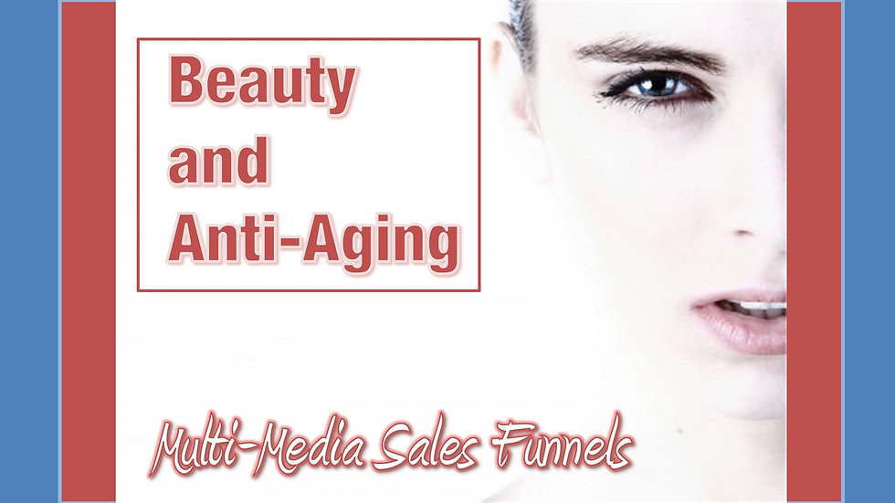 Beauty and Anti-Aging Mix and Match Multimedia Sales Funnels