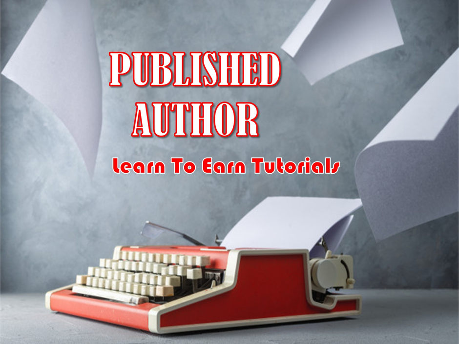 Published Author Learn To Earn Tutorials