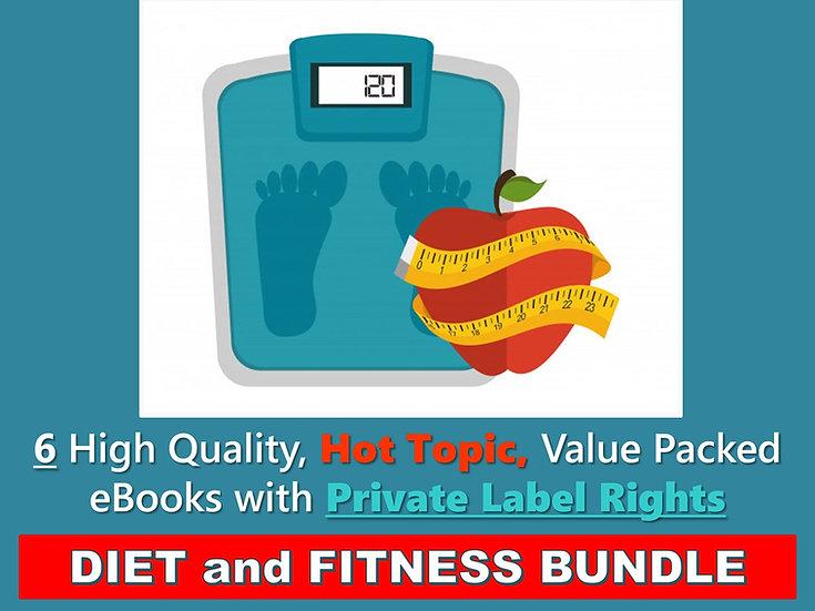 Diet and Fitness PLR eBook Bundle