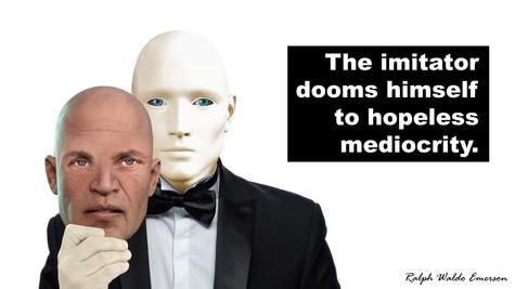 The Imitator Dooms Himself