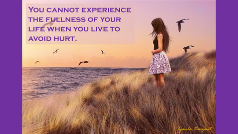 You cannot experience the fullness of life