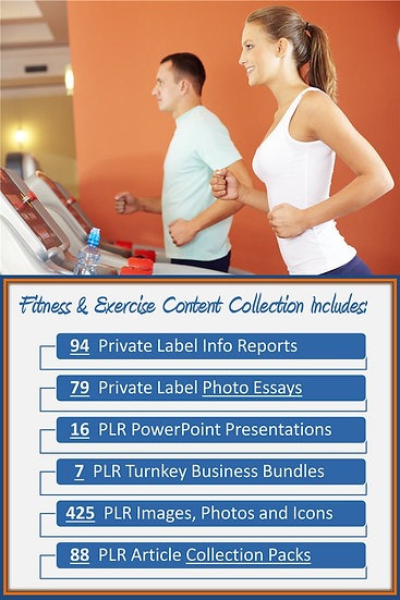 Fitness and Exercise Content Portfolios