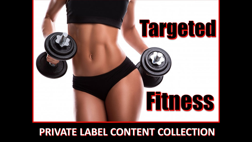 Targeted Fitness PLR Product Pack