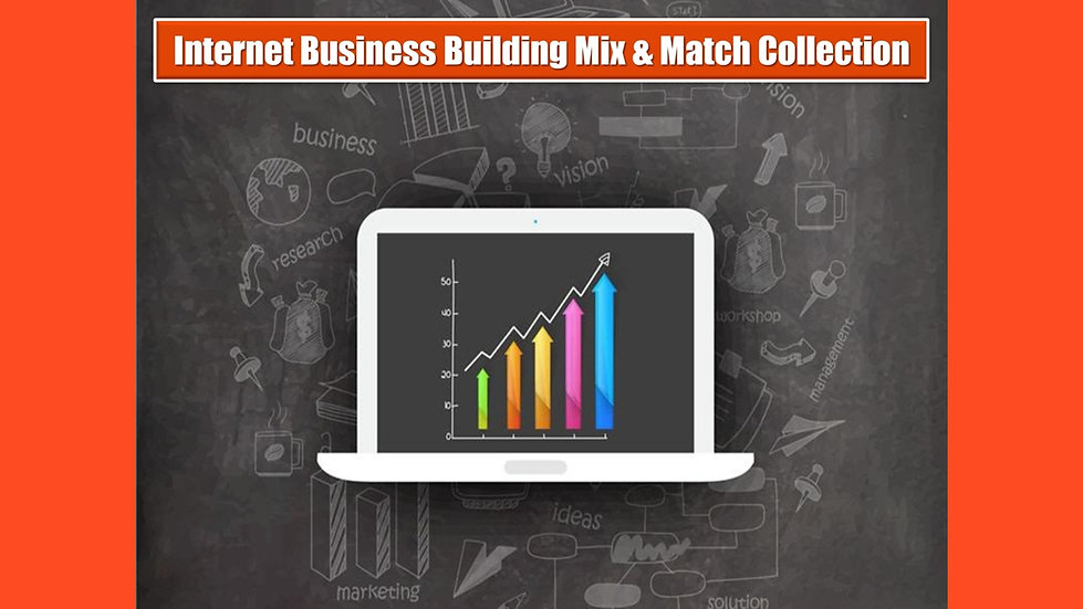 Internet Business Building MIX and MATCH COMPLETE Collection