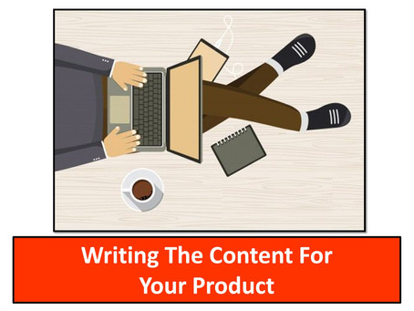 The 24-Hour Product Creation Blueprint: Writing The Content For Your Product