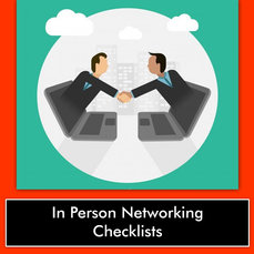 IN PERSON NETWORKING CHECKLISTS