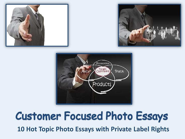 10 PLR Customer Focused Photo Essays