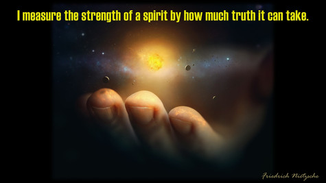 I measure the strength of a spirit