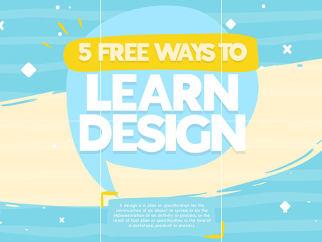 5 Free Ways to Learn Design