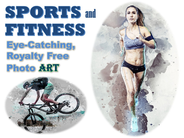 SPORTS and FITNESS Photo Art Collection