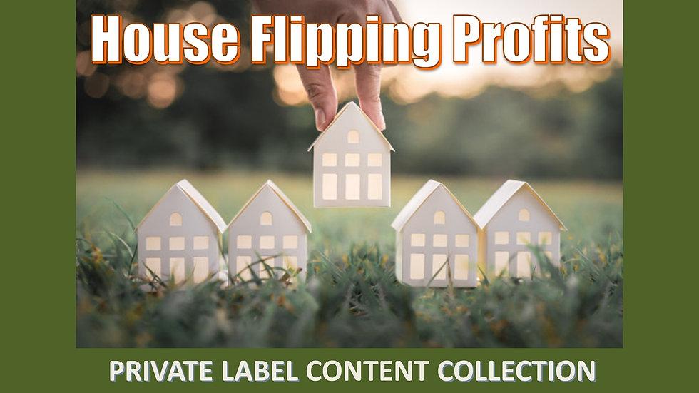 House Flipping Profits PLR Product Pack