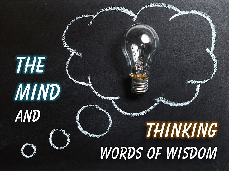 The Mind and Thinking Words of Wisdom Video Quote Collection
