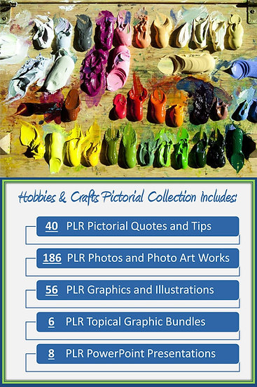 Crafts and Hobbies Pictorial Portfolios