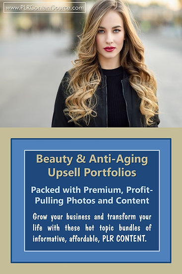 Beauty and Anti-Aging Upsell Content Collection