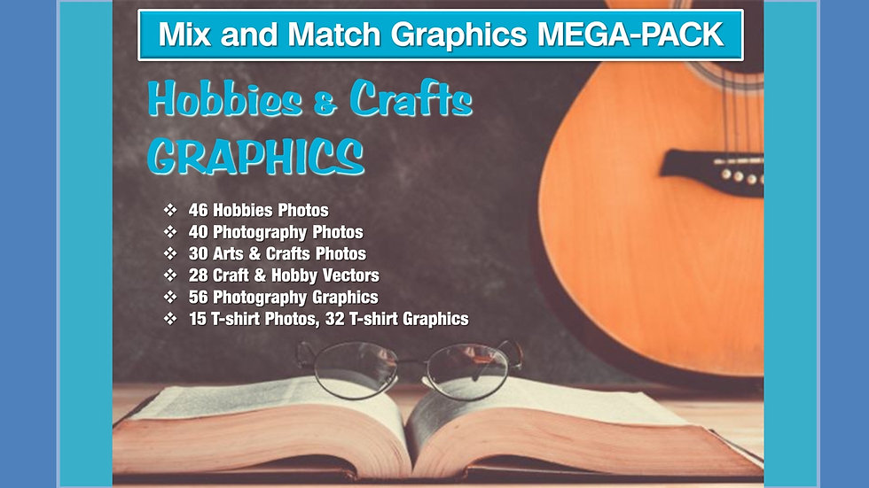 Hobbies and Crafts Mix and Match GRAPHICS Collection