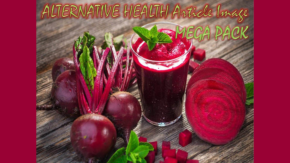 Alternative Health PLR Article and Image MEGA Pack