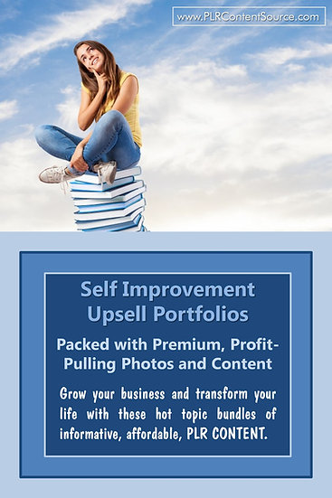 Self Improvement Upsell Content Collection