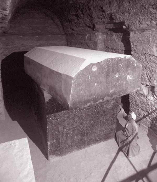 Serapeum of Saqqara, Bull Tomb, Egypt -