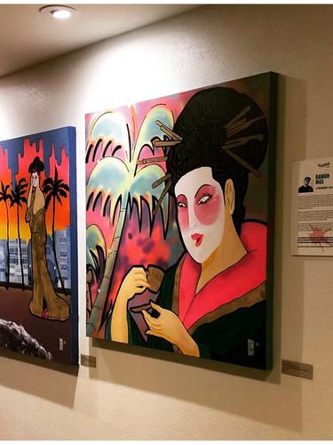 Miami Geishas Series