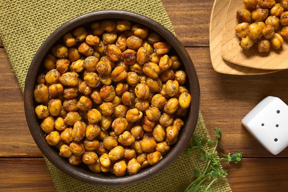 Dietitian St. John's | Nutritionist St. John's | Best Healthy Snacks | Energy Bars | Roasted Chickpeas | Weight Loss