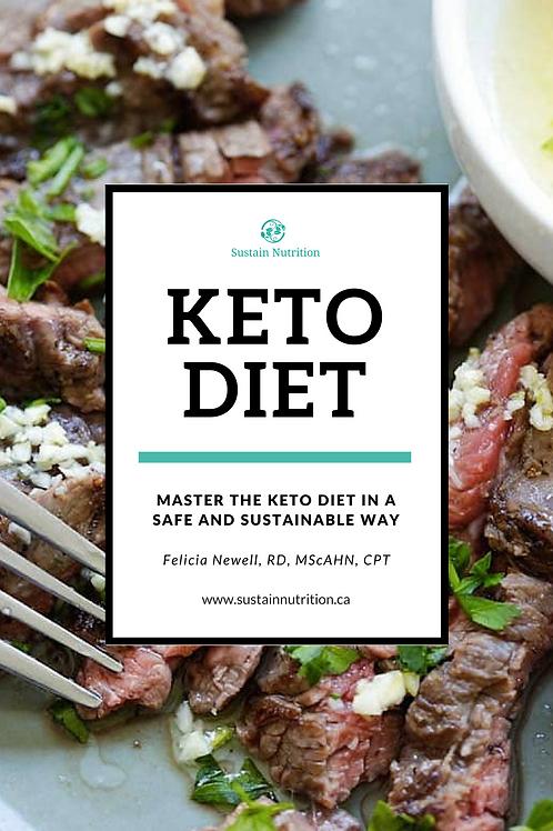 Keto Diet - A Complete Guide Book (eBook)