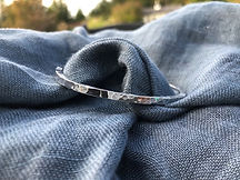 Paula Bishop Lansdown Silver Cuff Bracel