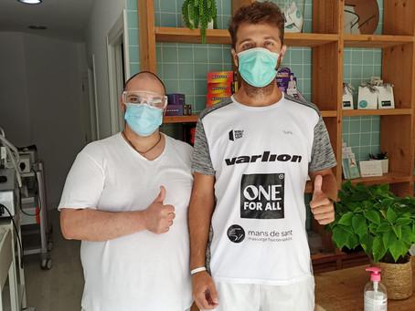 Ricky Martínez continua la seva preparació a Mans de Sant