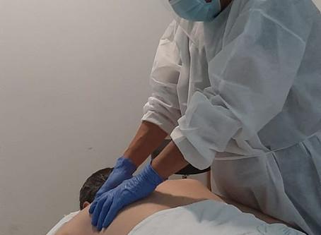 Fisioterapia con la máxima seguridad y protección