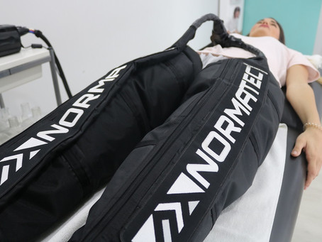 La mejor recuperación con alta tecnología Normatec