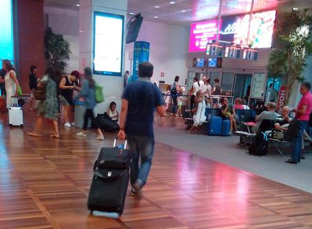 Compte amb les lesions per carregar equipatge