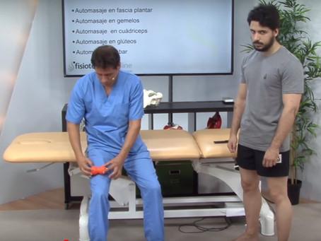 Automassatge del quàdriceps amb Cool Roller