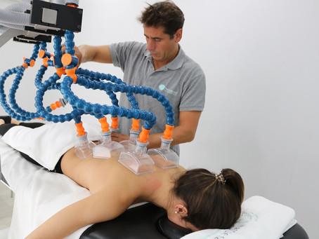 Un masaje de 8 terapeutas al mismo tiempo con Physium