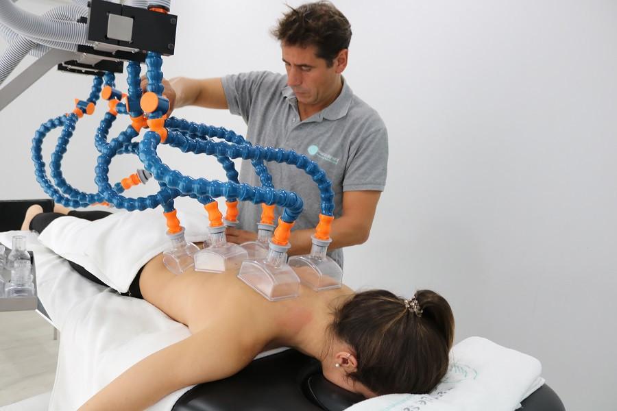 Sistema Physium que complementa els tractaments de fisioterapia a Sant Cugat