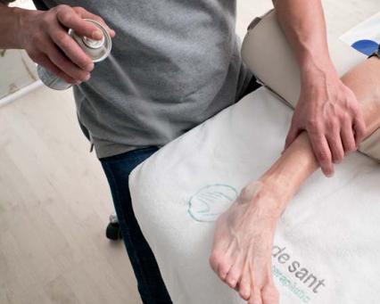 La rehabilitación del esguince de tobillo