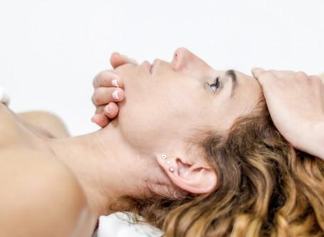 Ejercicios de fisioterapia de cabeza y cuello