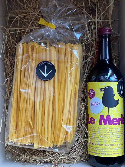 Pastabox im Geschenkkarton