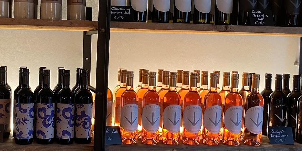 Weinverkostung und Ab Hof Verkauf