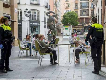 Aragón announces further restrictions including a 22.00 curfew