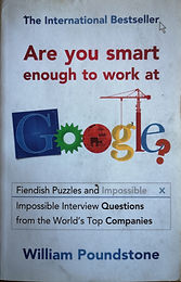 Are you msart enough to work at google?