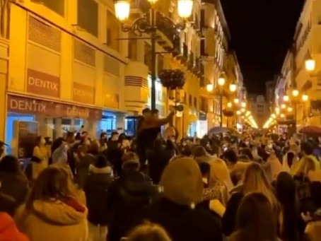 Zaragoza restricts busking after spontaneous gathering over the weekend