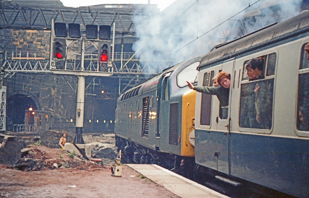 40034 Liverpool Lime Street 13th November 1982