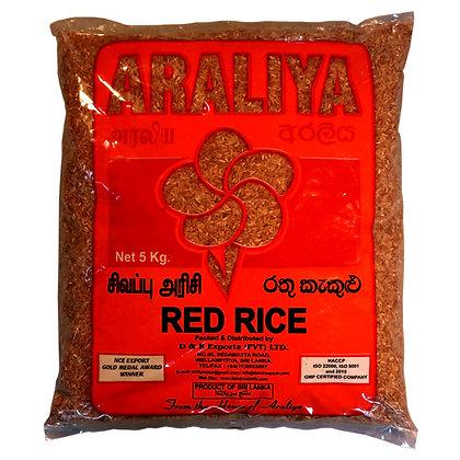 Araliya Red Rice Ratu Kekulu 5kg
