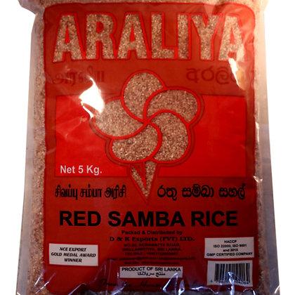 Araliya Red Samba Rice 5kg