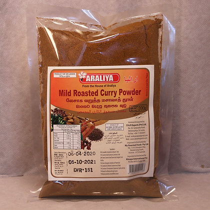Araliya Curry  Powder - Pkts (Unroasted)