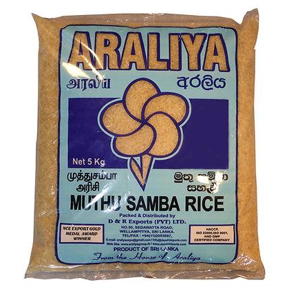 Araliya Muthu Samba Rice 5kg