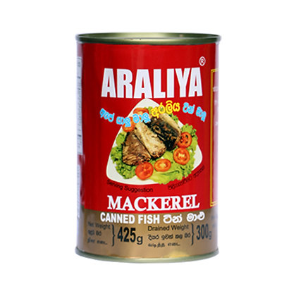 Araliya Jack Mackeral Canned Fish - Nt  Chille