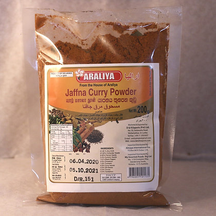 Araliya Jaffna  Curry  Powder - Pvc Bot