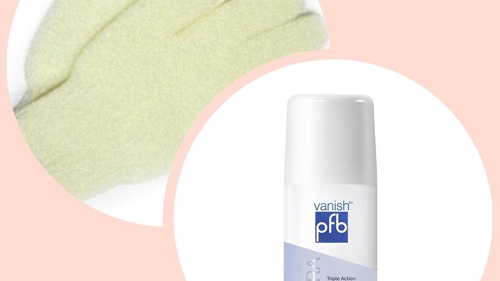 Exfoliating Body Gloves + PFB Ultra